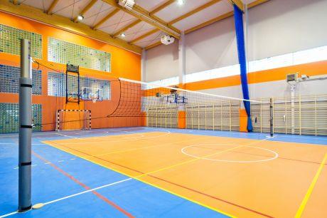 Nowa Hala Sportowa w Complex of Silesian International Schools, Polska